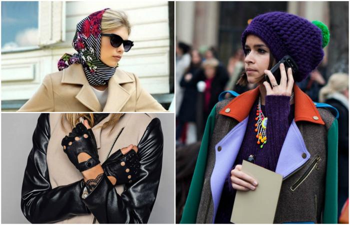 Стильные шапки, шарфы и перчатки, которые согреют этой зимой.