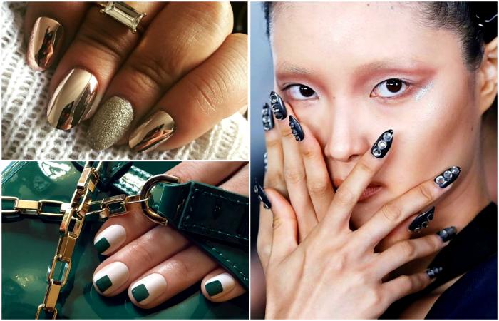 Идеи, примеры и тенденции дизайна ногтей 2017.