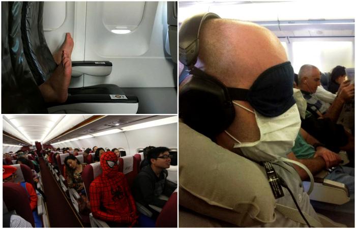 Забавные случаи в полетах.