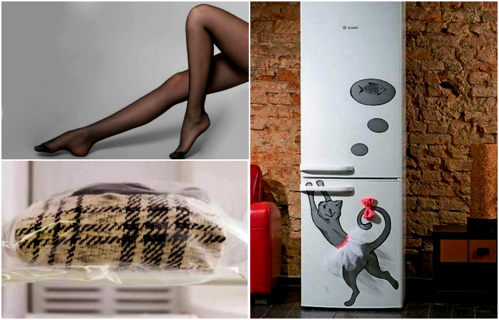 Нестандартные вещи, которые стоит хранить в холодильнике.