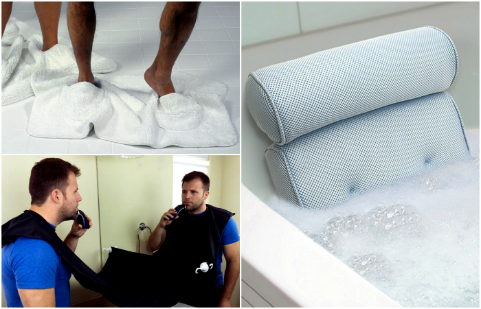 Крутые изобретения для ванны и туалета.