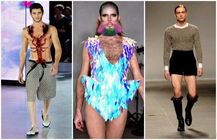 Беспощадные мужские наряда от знаменитых дизайнеров.