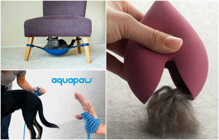 Интересные изобретения для домашних любимцев и их хозяев.