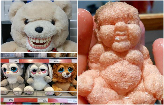 Детские игрушки, способные напугать своим внешним видом.