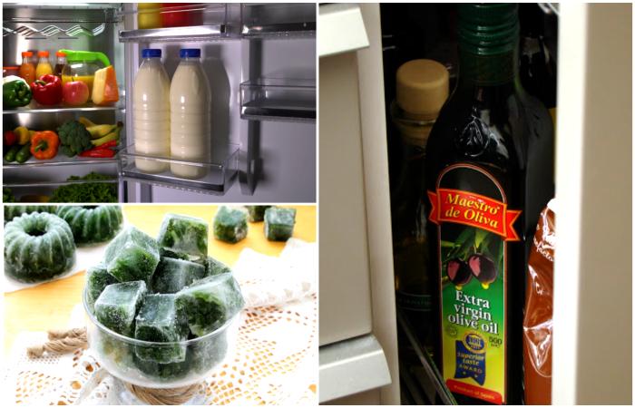 Простые советы хранения продуктов.
