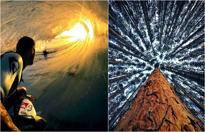 Удивительные снимки, сделанные с необычного ракурса.