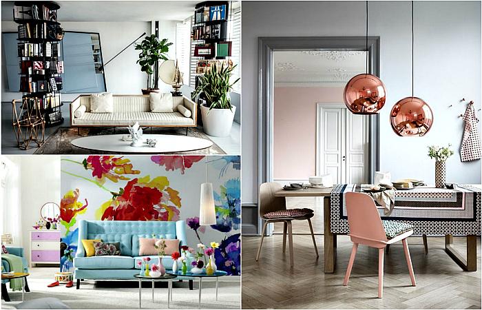 Интересные и модные тенденции в сфере дизайна интерьера.
