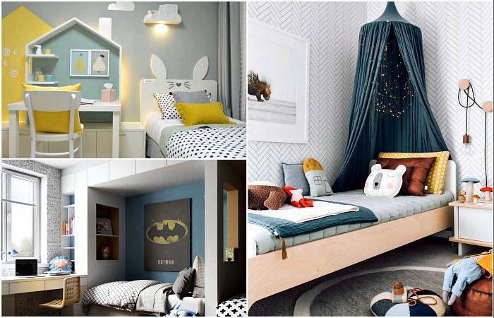 Восхитительные примеры обустройства комнаты ребенка.