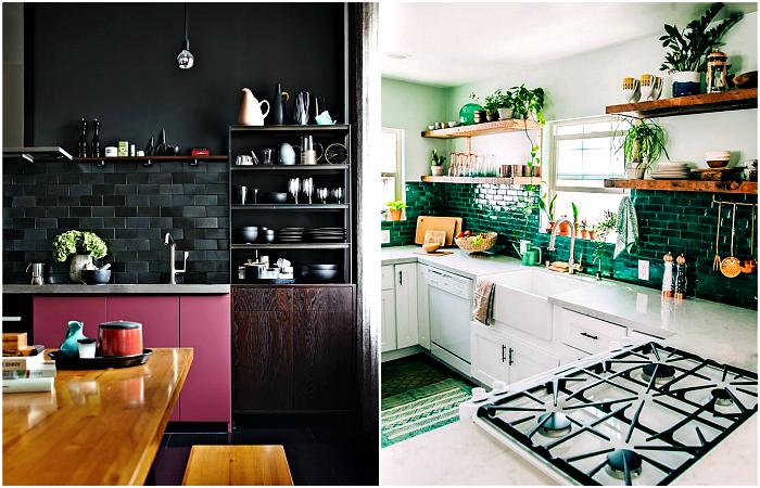 Вдохновляющие интерьеры кухонь, оформленных в соответствии с главными тенденциями дизайна.