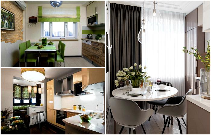 Актуальные примеры дизайна современной кухни.