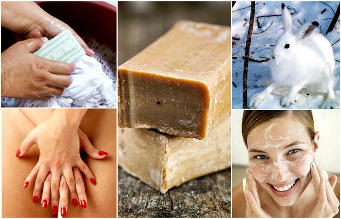 Необычные способы использования хозяйственного мыла.