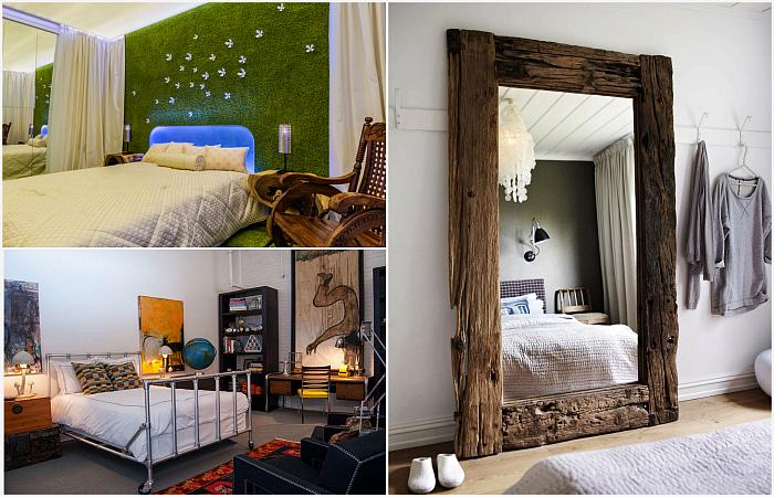 Идеи, которые помогут сделать маленькую спальню больше