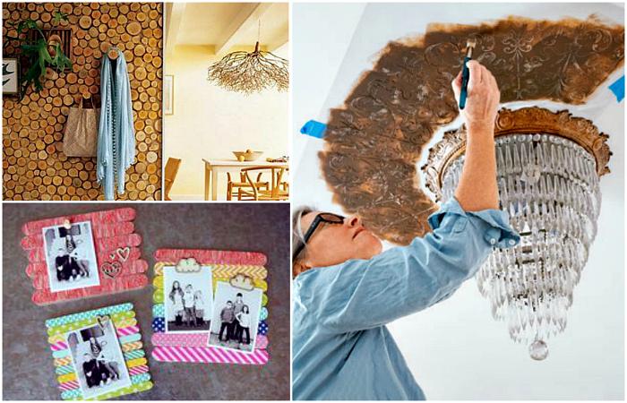 Оригинальные идеи для домашнего декора.