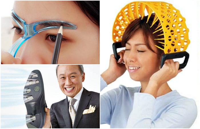 Странные девайсы от изобретательных японцев.