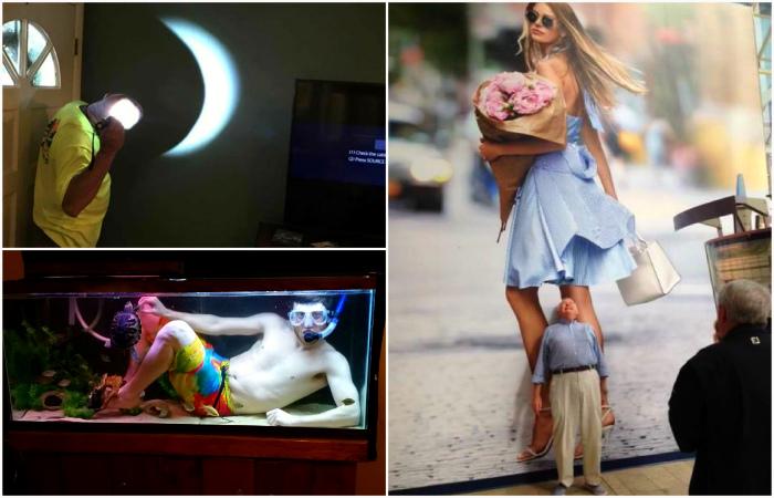 Фотографии, доказывающие, что мужчины всегда остаются детьми.