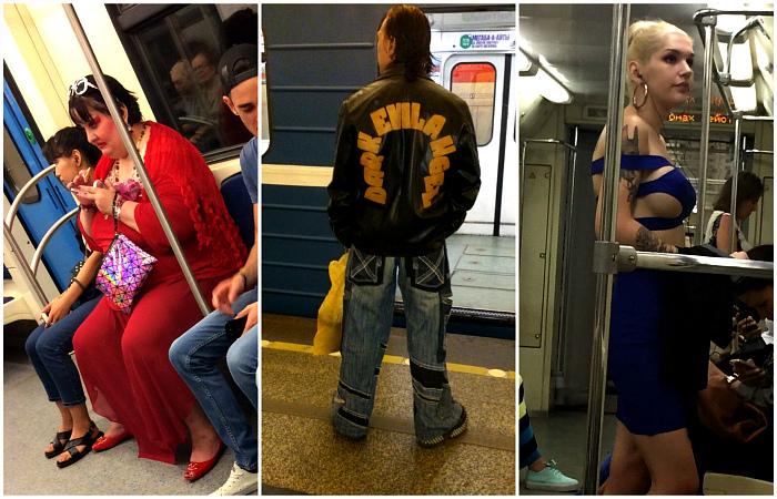 Модники метрополитена, на которых невозможно не обратить внимание.