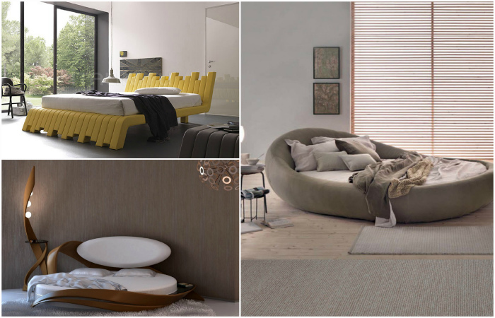 Восхитительные кровати в современном стиле.