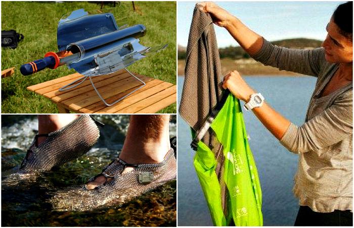 Крутые изобретения, которые пригодятся любому туристу.