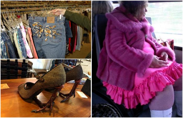 Люди, которые уничтожают моду своими безумными нарядами.