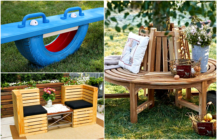 Чудесная мебель для обустройства загородного участка.