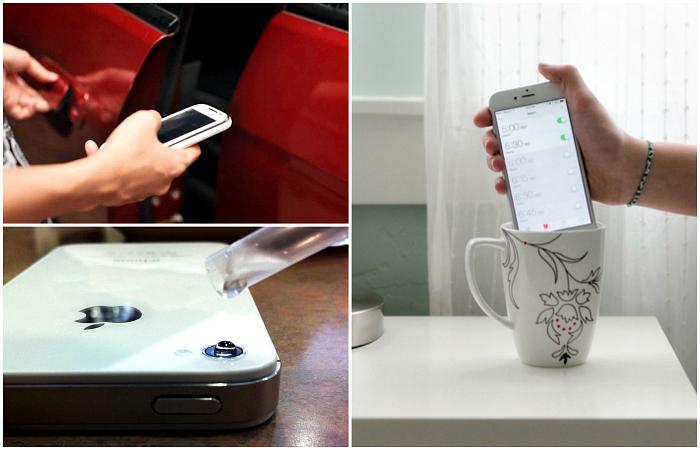 Гениальные лайфхаки для смартфонов.