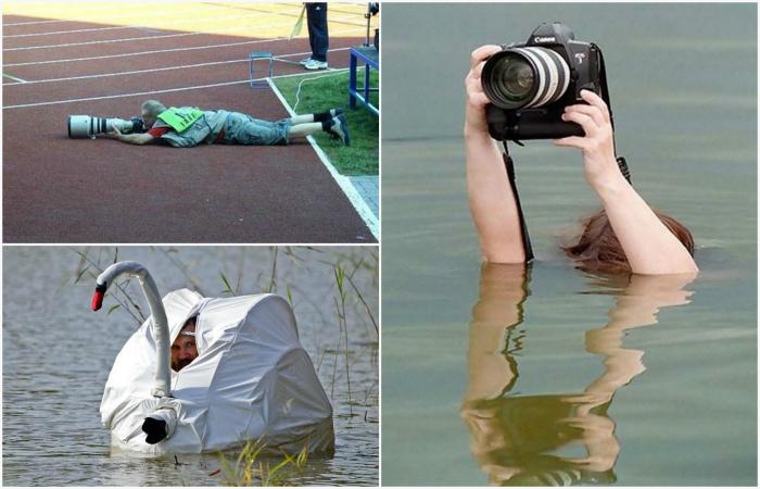 Курьезные снимки из жизни профессиональных фотографов.