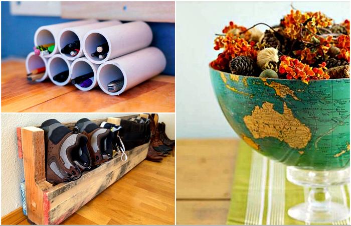 Крутые способы превращения мусора в полезные вещи.