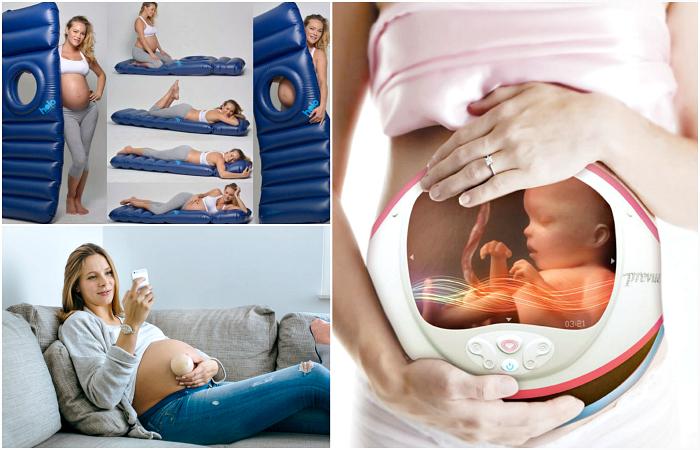 Гениальные изобретения для беременных женщин.
