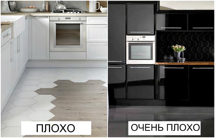 Ошибки при обустройстве кухни, которые могут стать роковыми.