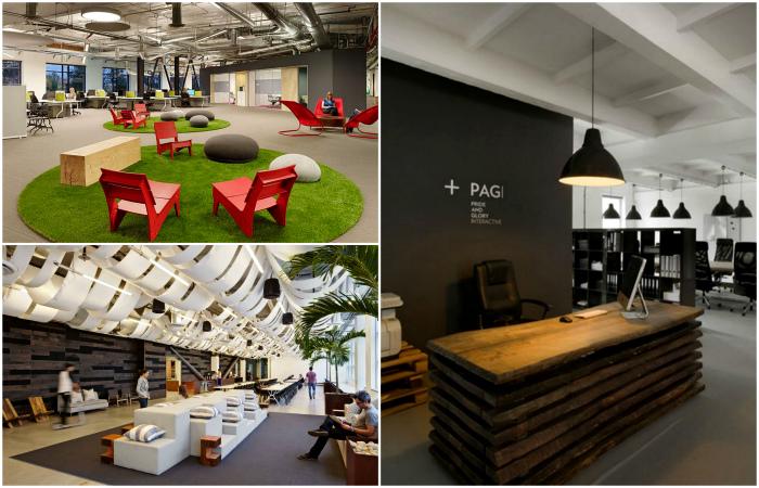 Восхитительные интерьеры современных офисов.