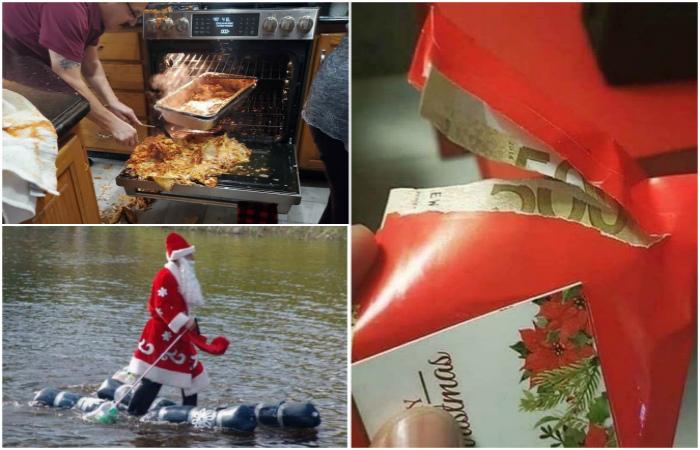 Забавные снимки, пропитанные новогодним настроением.