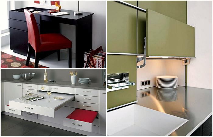 Эргономичная мебель, которая станет спасением для владельцев маленьких квартир.