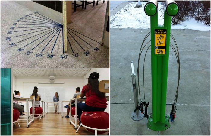 Гениальные изобретения, которые должны быть во всех учебных заведениях.