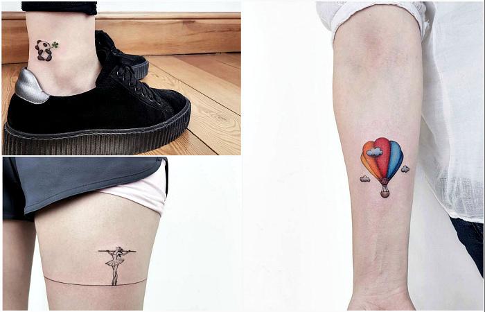 Крошечные татуировки, в которые невозможно не влюбиться.