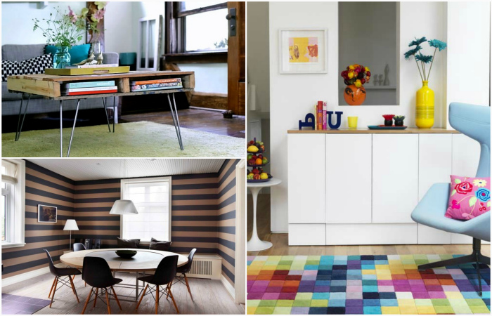Дизайнерские приемы, которые помогут красиво оформить маленькую квартиру.