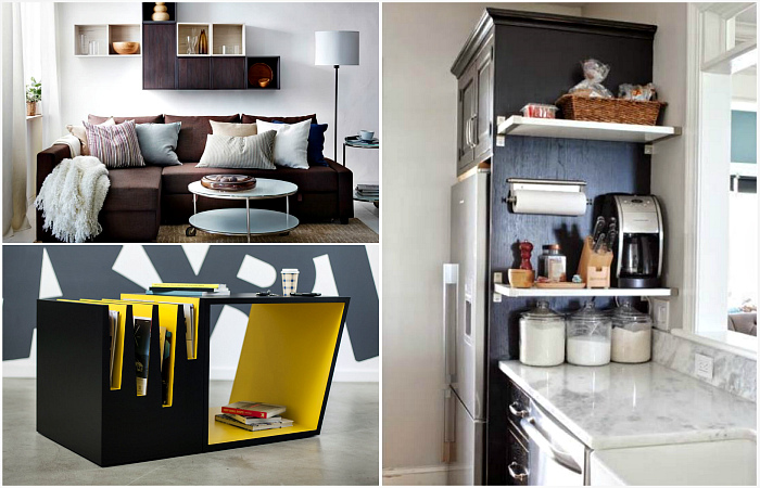 Полезные советы, которые пригодятся всем владельцам маленьких квартир.