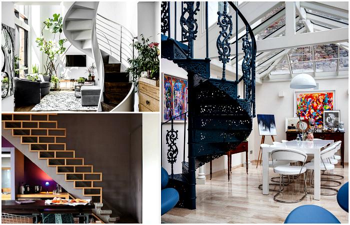 Потрясающие лестницы, которые станут украшением любого интерьера.