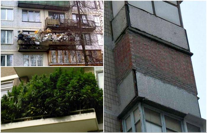 Стиль и шарм наших балконов.