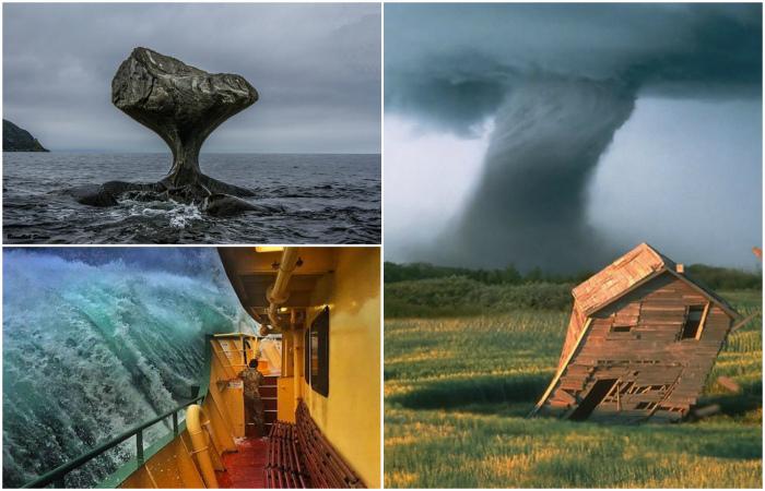 Снимки, демонстрирующие всю силу природы.