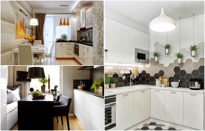 Потрясающие идеи дизайна небольшой кухни.