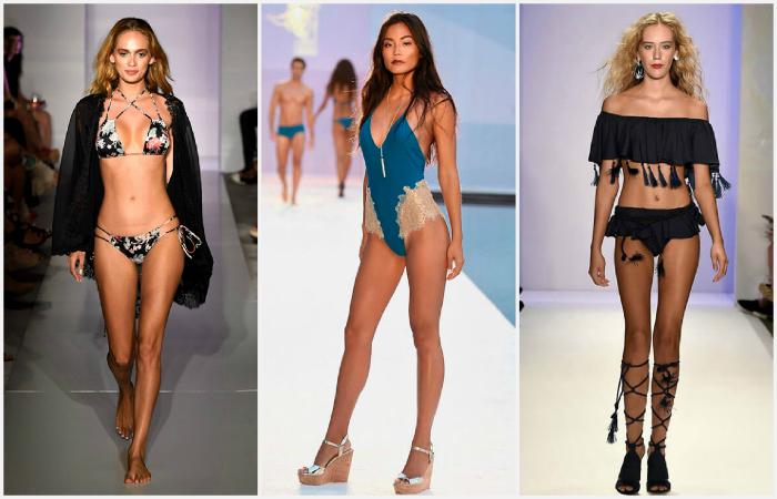 Самые модные модели купальников этого лета.