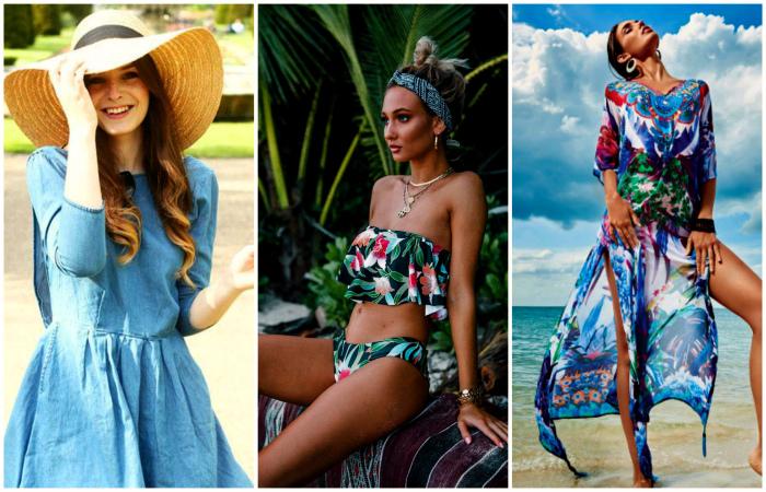 Лучшие тенденции пляжной моды.