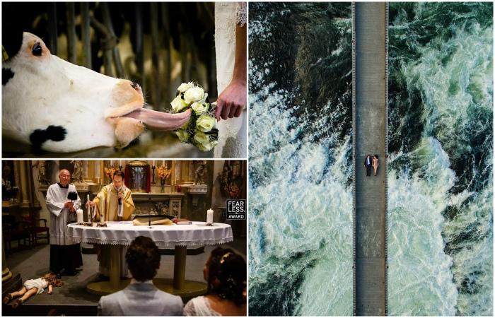 Уникальные свадебные снимки, на которые хочется смотреть вновь и вновь.