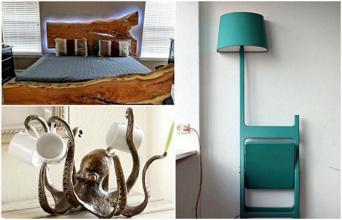 Креативные дизайнерские вещи, которые преобразят любое пространство и сделают жилье уникальным.