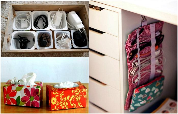 Самодельные системы хранения, которые помогут здорово апгрейдить дом.