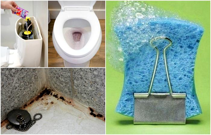 Простые хитрости, которые помогут содержать санузел в чистоте и здорово сэкономить на моющих средствах.