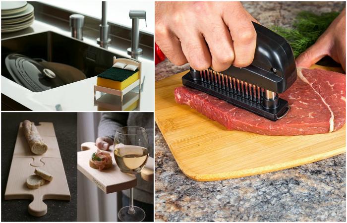 Крутые гаджеты, которые украсят кухню и упростят готовку.