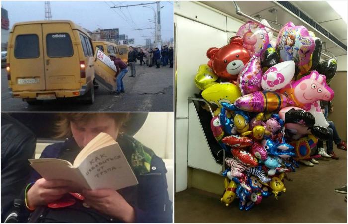 Чудные снимки, демонстрирующие особый шарм общественного транспорта России.