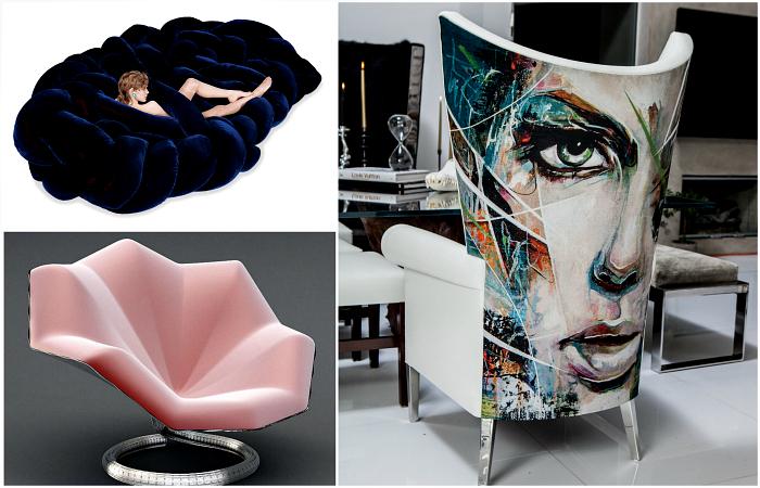 Уникальные дизайнерские диваны и кресла, которые станут настоящими украшениями любых пространств.