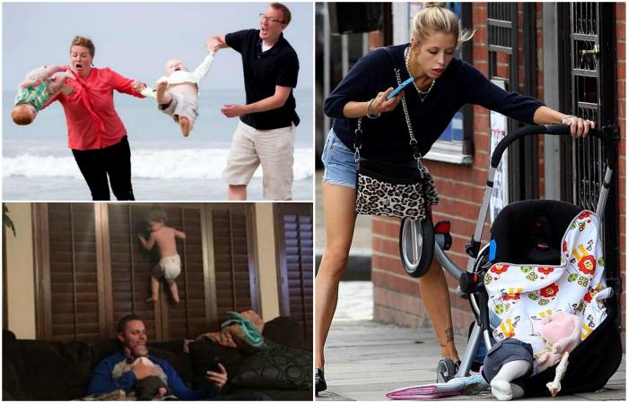Курьезные и нелепые случайности, которые доказывают, что идеальных родителей не бывает.